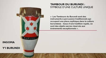 LES CHOSES//Un tambour du Burundi