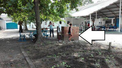 Lancement du compostage au lycée Charlemagne