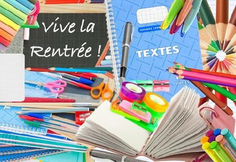Rentrée 2019 – Fournitures scolaires (Ecole)
