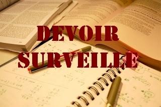 DEVOIRS SURVEILLES                           2019 – 2020