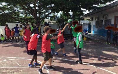 Journée de rencontres avec l'Association Sportive.