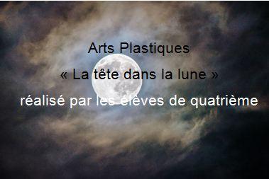 Arts Plastiques « La tête dans la lune »