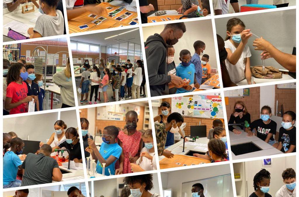 Les CM2 découvrent les sciences au collège-lycée