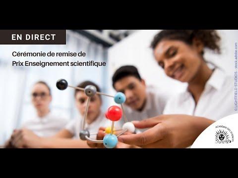 Remise de la mention du Prix de l'Académie des Sciences au Lycée Charlemagne de Pointe-Noire pour le projet d'Enseignement Scientifique en Terminale 2020-2021